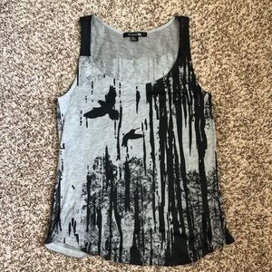 Forever 22 black and gray tank top Size M/M